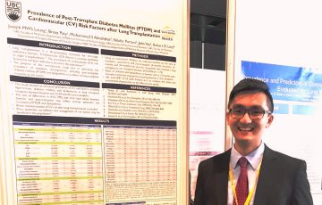 Post-lung Transplant research presented at ISHLT meeting